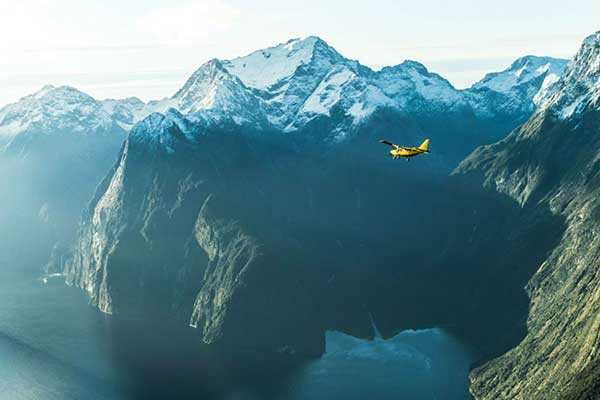 Milford Sound from Wanaka (Fly Cruise Fly + Glaciers) $450pp (was $580pp)