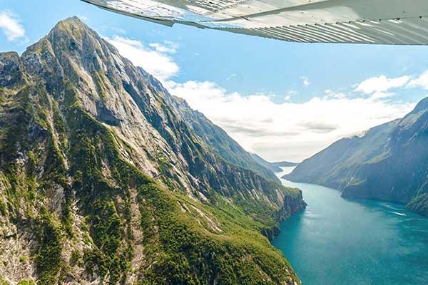 Milford Sound & Glaciers Flyover $349pp (was $495)