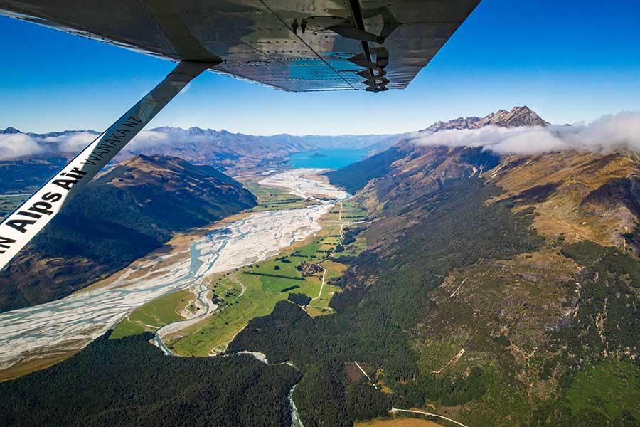 Dart Valley Glenorchy Milford Sound scenic flight
